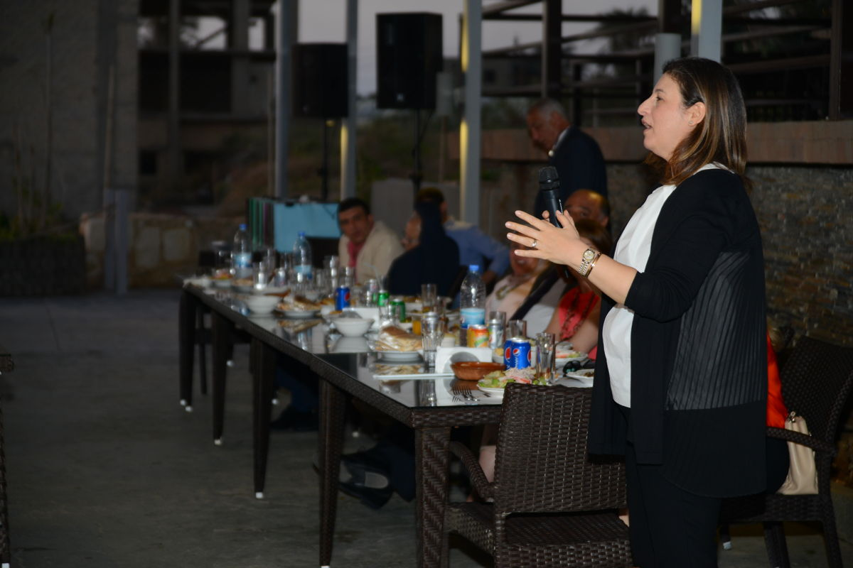 Dr. Zeina's Speech